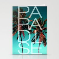 paradise Stationery Cards featuring PARADISE by Chrisb Marquez