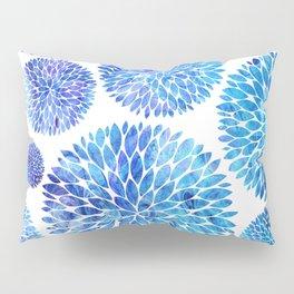Ocean Flowers Pillow Sham