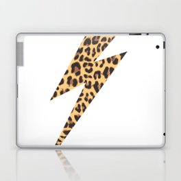 Wild Thing Leopard Lightning Bolt Laptop & iPad Skin