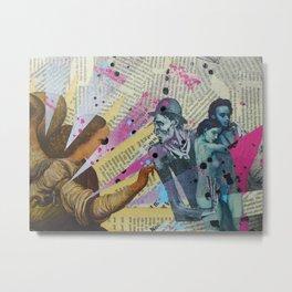 Intervention 3 Metal Print