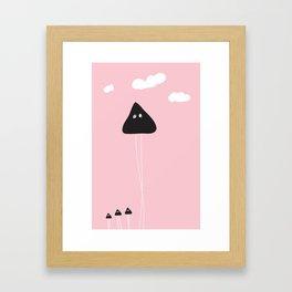 Sweet Invaders Framed Art Print