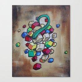 Cubist Grapes Canvas Print
