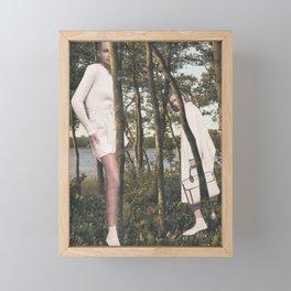 Hide And Seek Framed Mini Art Print