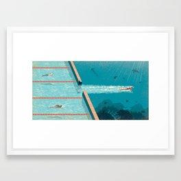 Comfort Zone Framed Art Print