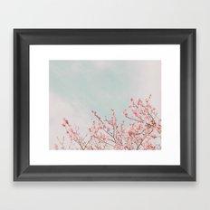Waving in the Sky Framed Art Print
