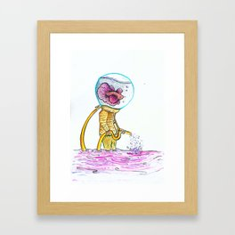 Watering Hole Framed Art Print