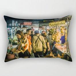 Market in Phitsanulok Rectangular Pillow