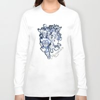digimon Long Sleeve T-shirts featuring Digimon Memories by Cursed Rose
