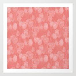 Feelin' Peachy.... Art Print