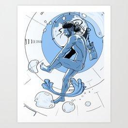 Morning on the Daedalus: Brandon Art Print