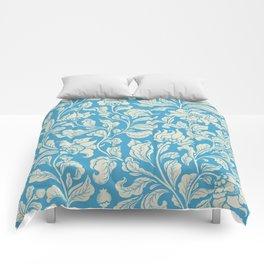 neo ethnic cerulean Comforters