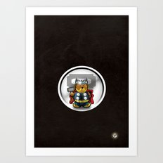 Super Bears - the Mighty One Art Print