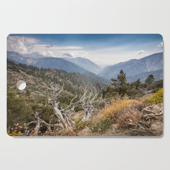 Inspiration Point along Pacific Crest Trail Cutting Board