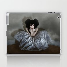 She Creeps in Her Own Shadows Laptop & iPad Skin