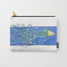 Fish in the wave Carry-All Pouch