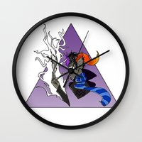 homestuck Wall Clocks featuring Ugly Story by Alice Everyday
