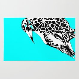 Minty Magpie Rug