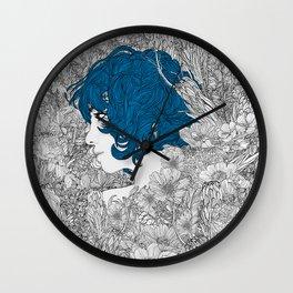 Rhapsody in Blue Wall Clock