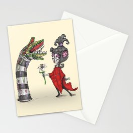 Lydia and the Sandworm Stationery Cards