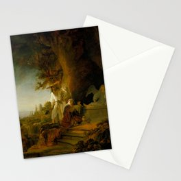 Christ and St Mary Magdalen at the Tomb Stationery Cards