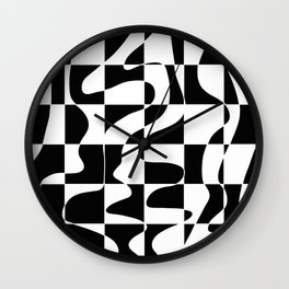 It's Not Always So Black And White Wall Clock