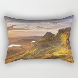 II - Sunrise at Quiraing, Isle of Skye, Scotland Rectangular Pillow