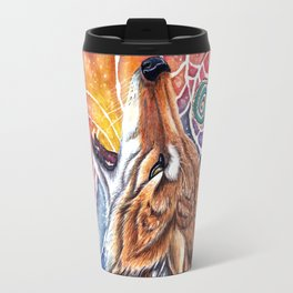 Coyotes Tells a Story Travel Mug