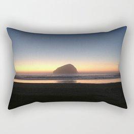 Sunset over the Pacific Rectangular Pillow