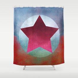 Star Composition VII Shower Curtain