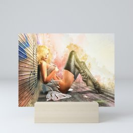 Back Street - 96° Mini Art Print