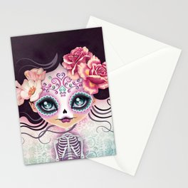 Camila Huesitos - Sugar Skull Stationery Cards
