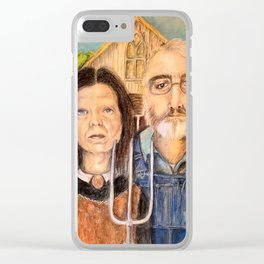 Erie Gothic Clear iPhone Case