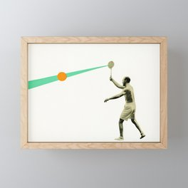 Serve Framed Mini Art Print