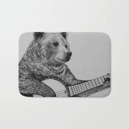 Grizzly Bear Bath Mat