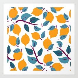 Lemons - Light Art Print
