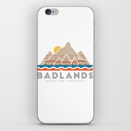 Badlands National Park, South Dakota iPhone Skin