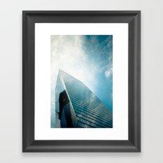 sky high #1 Framed Art Print