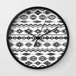 cockatoo (monochrome series) Wall Clock