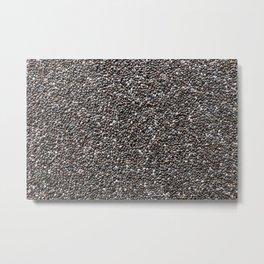 Chia seeds Metal Print