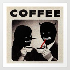 Wow, Is that decaf Art Print