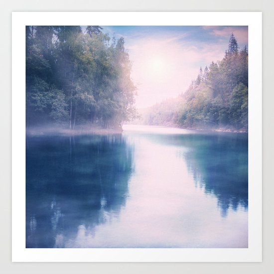 Pastel vibes 39 - Dreams Art Print