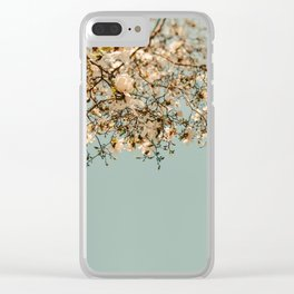 Falling Into Spring Clear iPhone Case