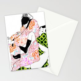 Bodies in boxes Stationery Cards