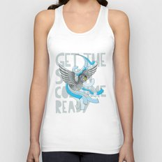 Get the Swan costume ready. Unisex Tank Top