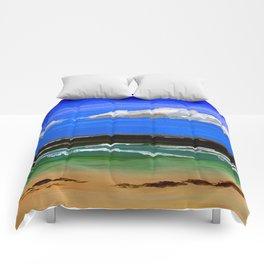 Pacific ocean Comforters