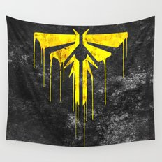 The Last Of Us Fireflies (Yellow) Wall Tapestry