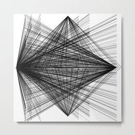 Space. No Space. Metal Print