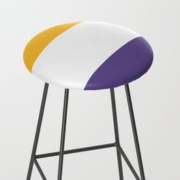 Women's Suffrage Flag Bar Stool
