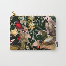 Floral and Birds XXV Carry-All Pouch