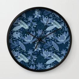Australia Flowers Wall Clock